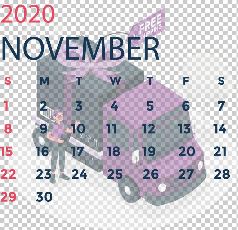 November 2020 Calendar November 2020 Printable Calendar PNG, Clipart, Angle, April, Calendar System, Line, Meter Free PNG Download