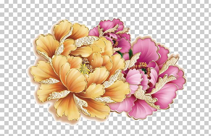 Peony Flower Drawing PNG, Clipart, Color, Cut Flowers