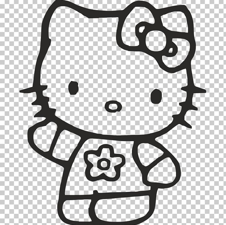 Hello Kitty Coloring Book Colouring Pages Christmas Coloring