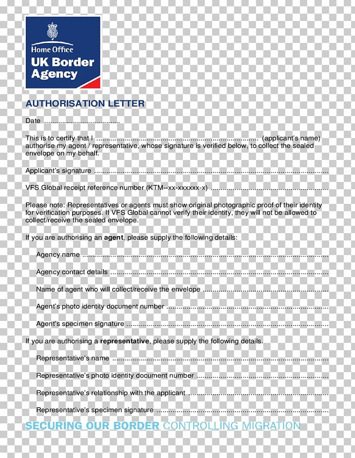 United Kingdom Résumé Authorization Cover Letter UK Border Agency ...