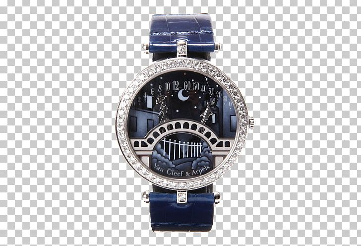 Watch Strap Van Cleef & Arpels Watch Strap Clock PNG, Clipart, Accessories, Amp, Apple Watch, Arpels, Cobalt Blue Free PNG Download