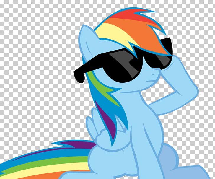 Sunglasses rainbow. Dash rarity my little