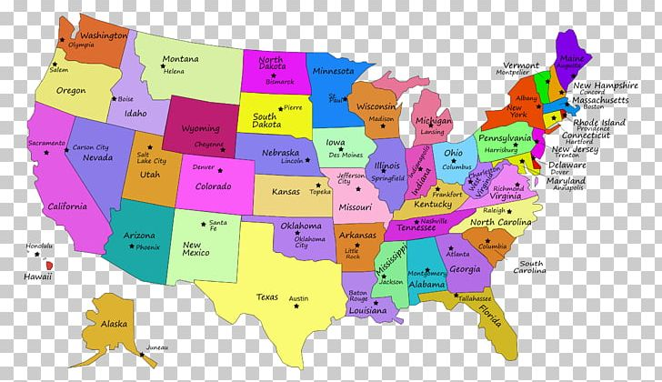 Us State Map Delaware Capital City Png Clipart Area Blank Map - Delaware-on-a-us-map