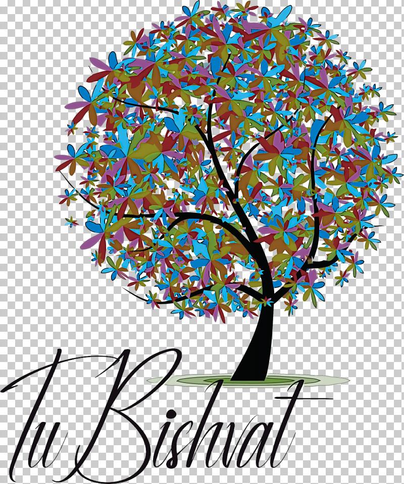 Tu BiShvat Jewish PNG, Clipart, Behavior, Branching, Floral Design, Geometry, Human Free PNG Download