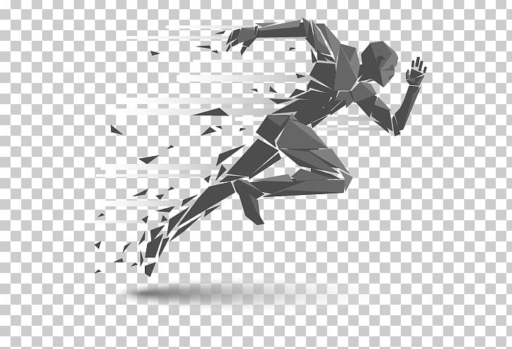 Running Illustration PNG, Clipart, Angle, Angry Man, Black, Black And White, Business Man Free PNG Download