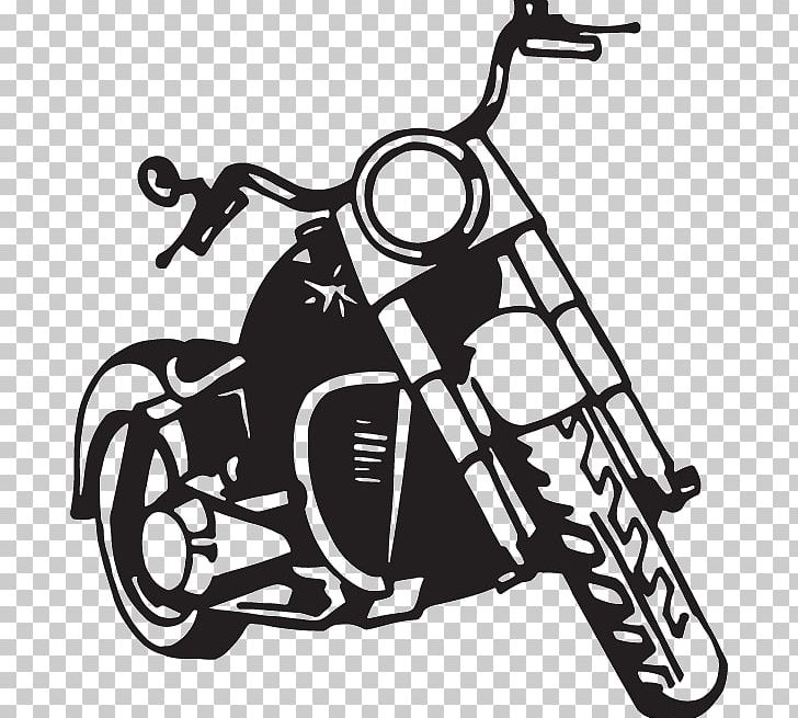 Motorcycle Harley Davidson Silhouette Drawing Png Clipart