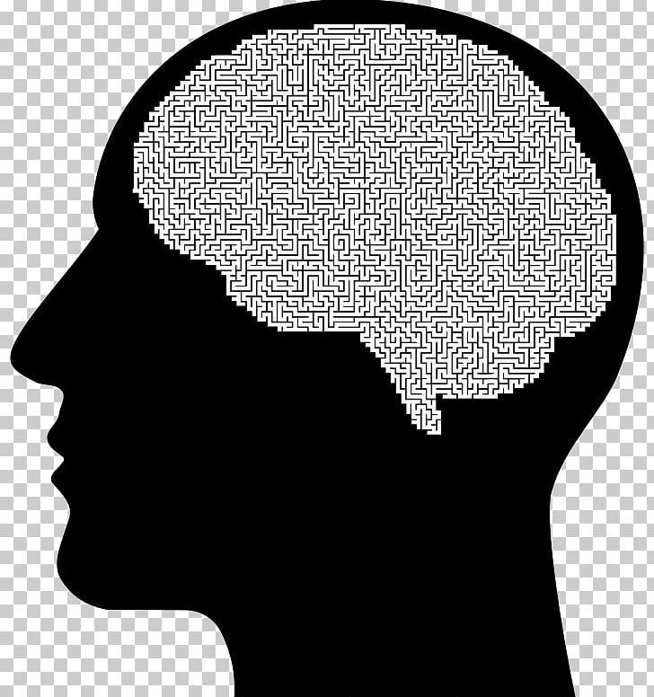 Brain human. The female head png