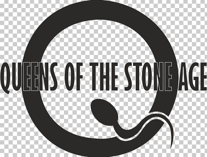 Queens Of The Stone Age Logo Palm Desert PNG, Clipart, Alternative Rock, Black And White, Brand, Circle, Concert Free PNG Download