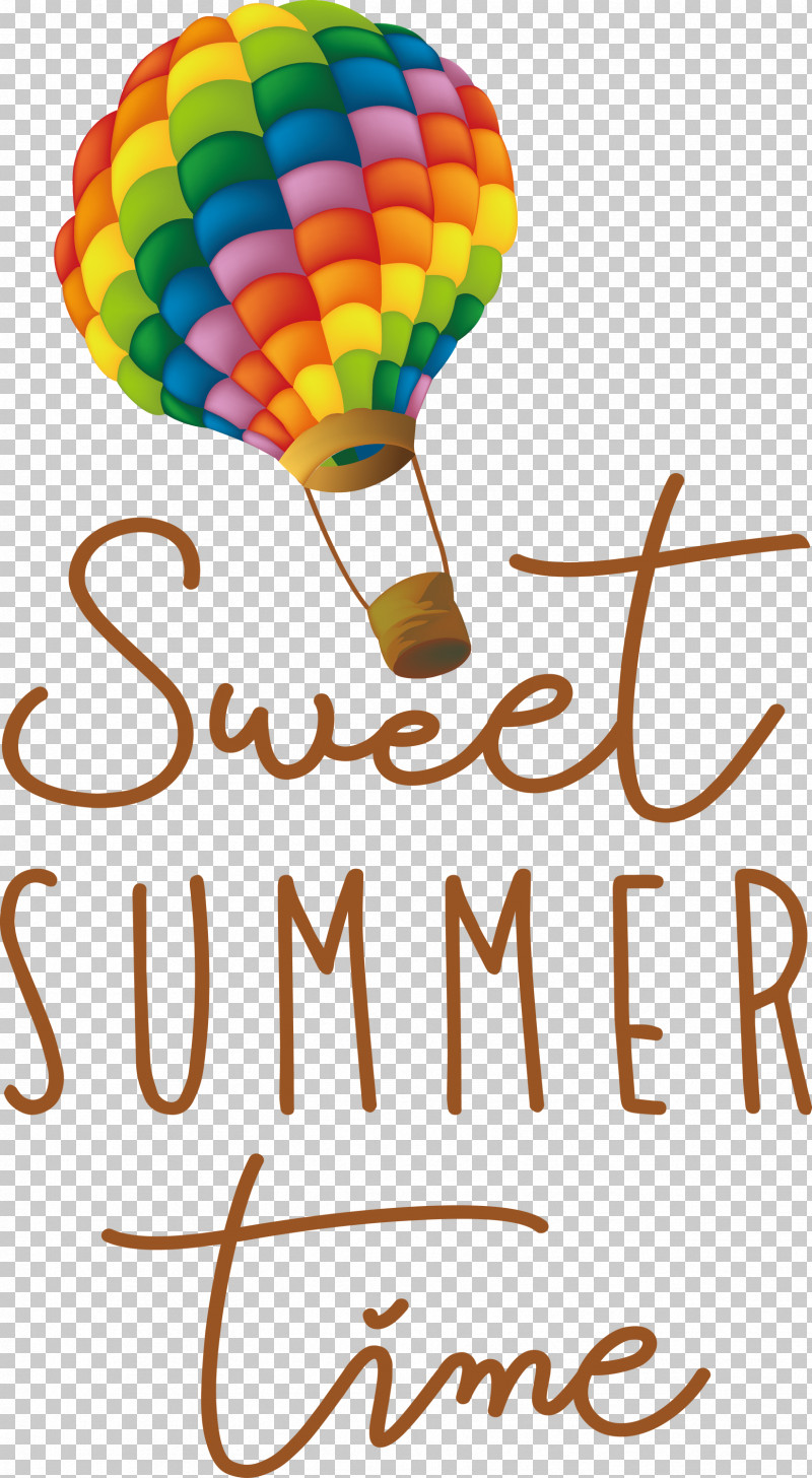 Sweet Summer Time Summer PNG, Clipart, Balloon, Geometry, Happiness, Line, Mathematics Free PNG Download
