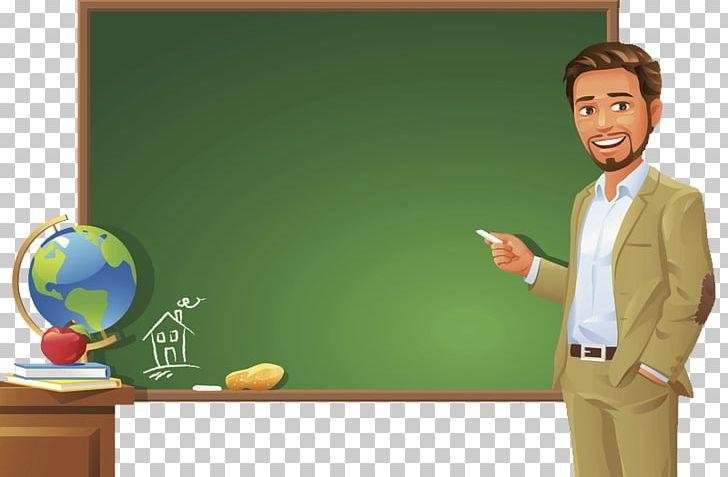 Teacher Blackboard Student PNG, Clipart, Attend Class, Cartoon Teacher, Chalk, Class, Globe Free PNG Download