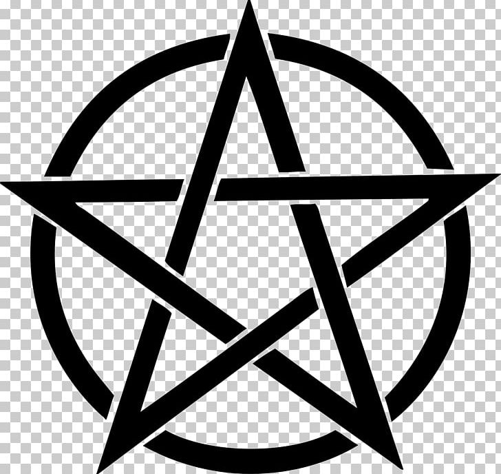 Pentagram Pentacle PNG, Clipart, Angle, Area, Baphomet, Black And White, Circle Free PNG Download
