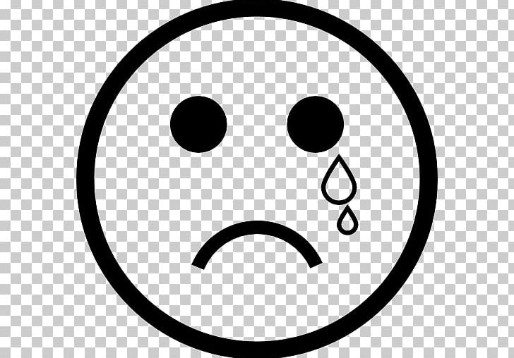 Smiley Face With Tears Of Joy Emoji Emoticon Crying PNG, Clipart, Area, Black And White, Circle, Clip Art, Computer Icons Free PNG Download