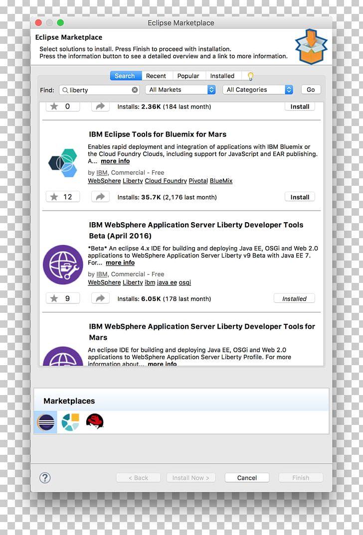 Computer Program Eclipse IBM WebSphere Java Platform PNG, Clipart