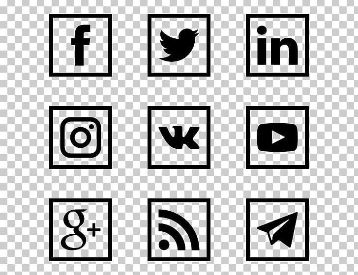 Social Media Logo Computer Icons Social Networking Service PNG, Clipart, Angle, Area, Black, Black And White, Brand Free PNG Download
