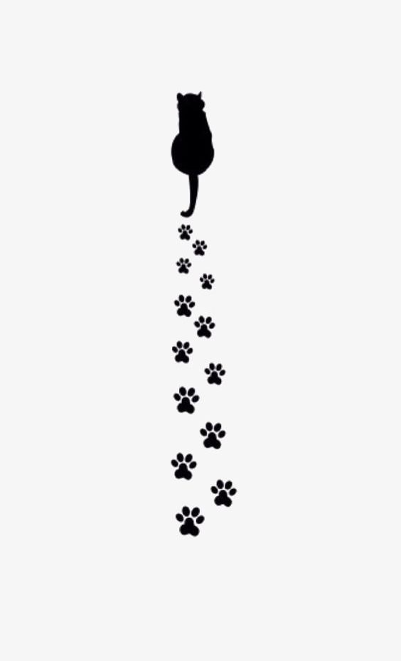 Cat Paw Prints Png Clipart Black Black Cat Black Paw Prints Cat Cat Clipart Free Png Free icons of cat paw in various design styles for web, mobile, and graphic design projects. cat paw prints png clipart black