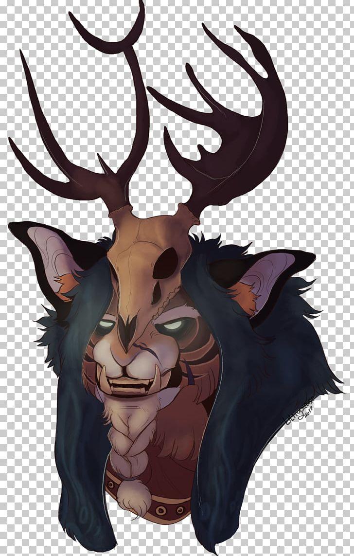 Reindeer Illustration Cartoon Legendary Creature Supernatural PNG, Clipart, Animated Cartoon, Antler, Art, Cartoon, Deer Free PNG Download