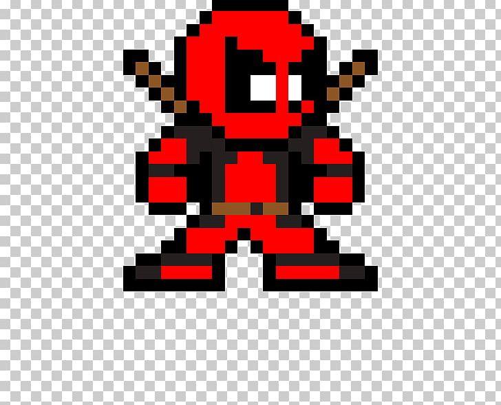 Deadpool Spider Man Pixel Art Sandman Png Clipart Art