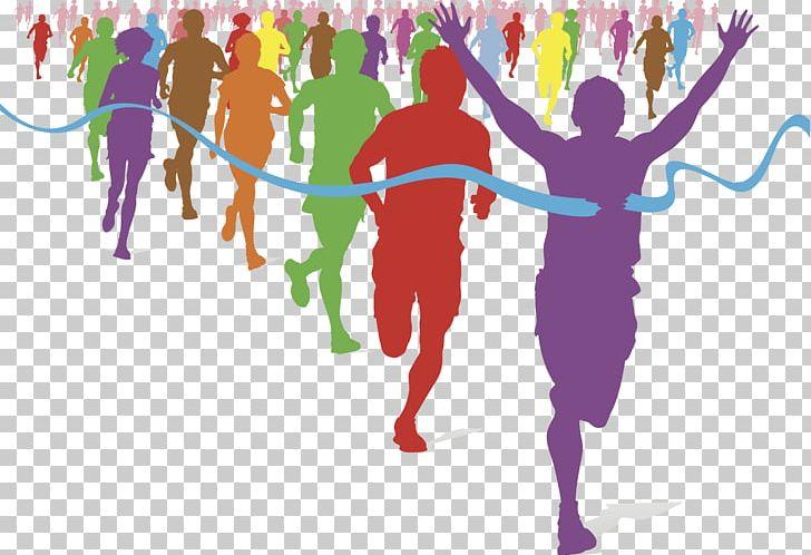 The Color Run Running Fun Run Racing Png Clipart 5k Run Art Clip
