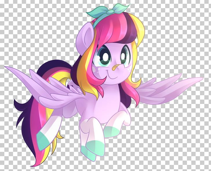Horse Illustration Fairy Desktop PNG, Clipart, Animals, Anime, Art, Cartoon, Clover Painted Free PNG Download