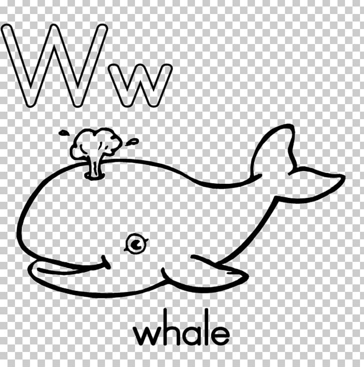 Coloring Book Alphabet Letter W Educational Game PNG, Clipart ...