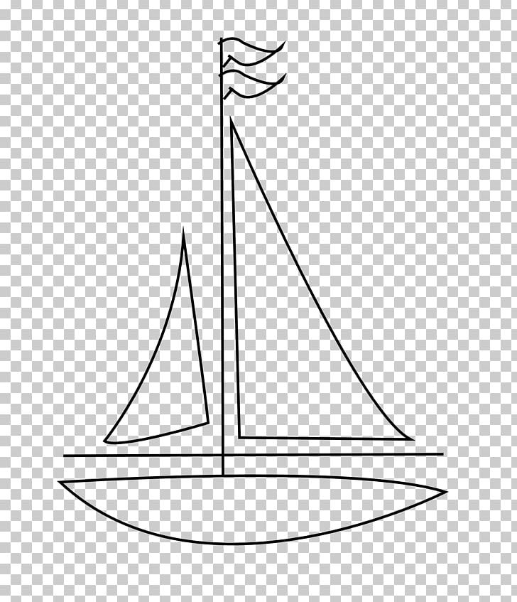 Drawing Sailboat Sailing Line Art PNG, Clipart, Angle, Area, Art, Black And White, Boat Free PNG Download
