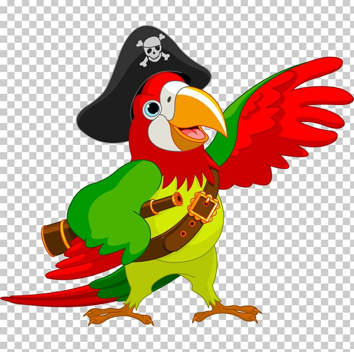 Pirate Parrot Piracy Jack Sparrow PNG, Clipart, Animal Figure, Animals, Art, Beak, Bird Free PNG Download