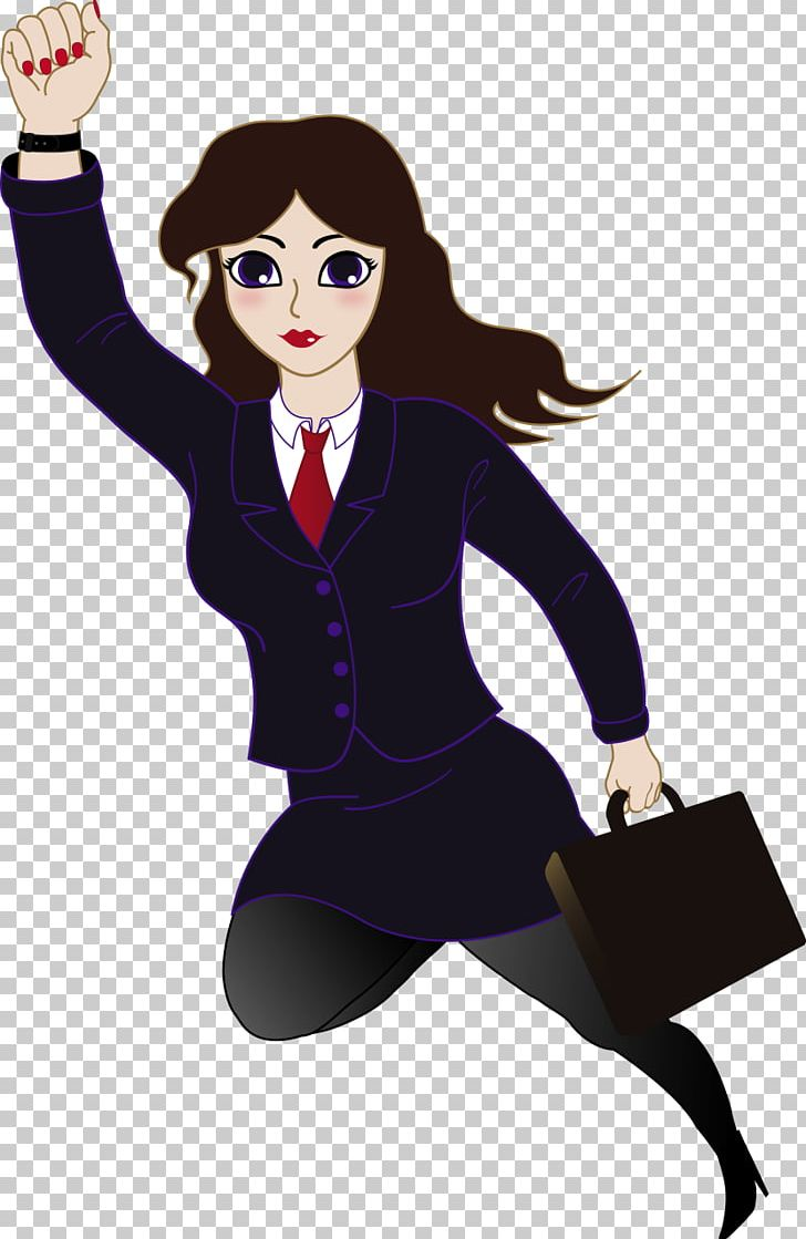 Superwoman Female Businessperson Png Clipart Black Hair Businessperson Career Woman Cartoon Desktop Wallpaper Free Png Download