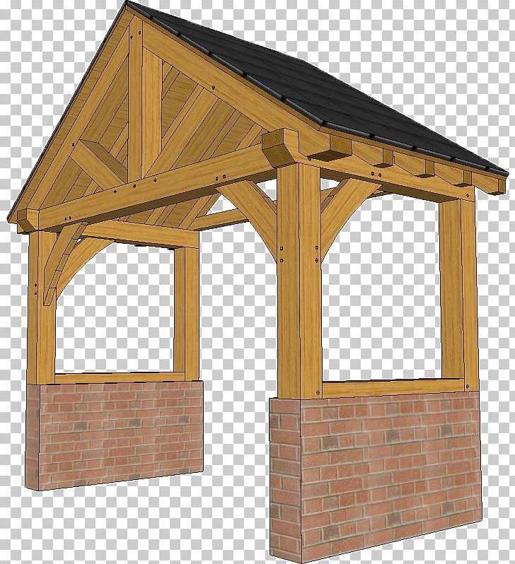Shed Porch Timber Framing Roof Post Oak PNG, Clipart, Canopy