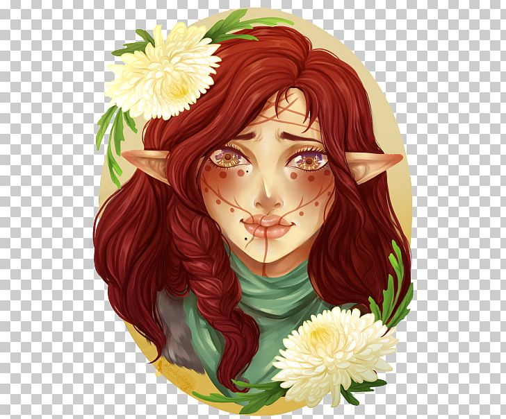 Floral Design Fairy Rose Family Hair Coloring PNG, Clipart, Anime, Art, Brown Hair, Fairy, Family Free PNG Download