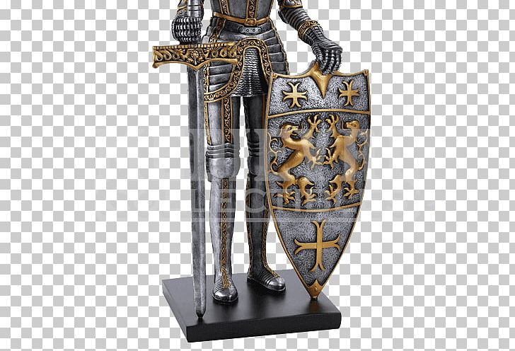 Knight Crusades Middle Ages Plate Armour PNG, Clipart, Armour, Bronze, Bronze Sculpture, Crusades, Fantasy Free PNG Download