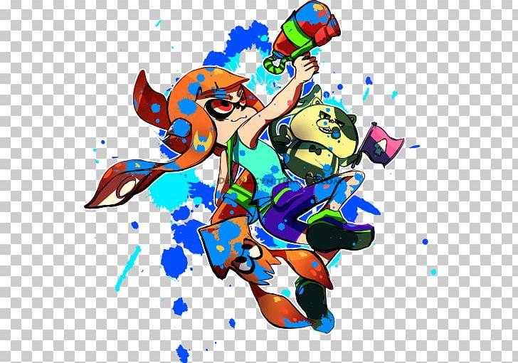 Splatoon Fan Art Drawing Png Clipart Anime Art Artwork