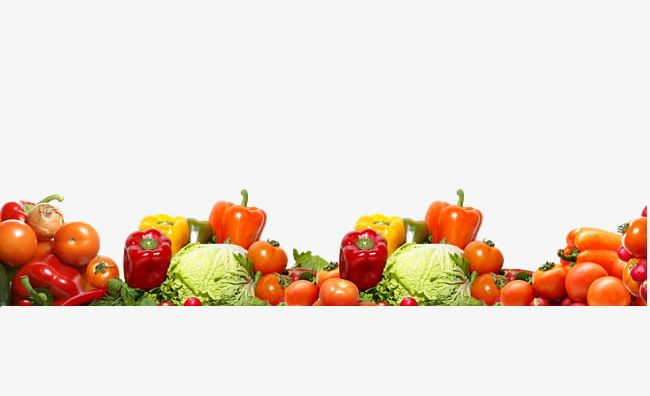 Fruit And Vegetable Border Texture Png Clipart Border