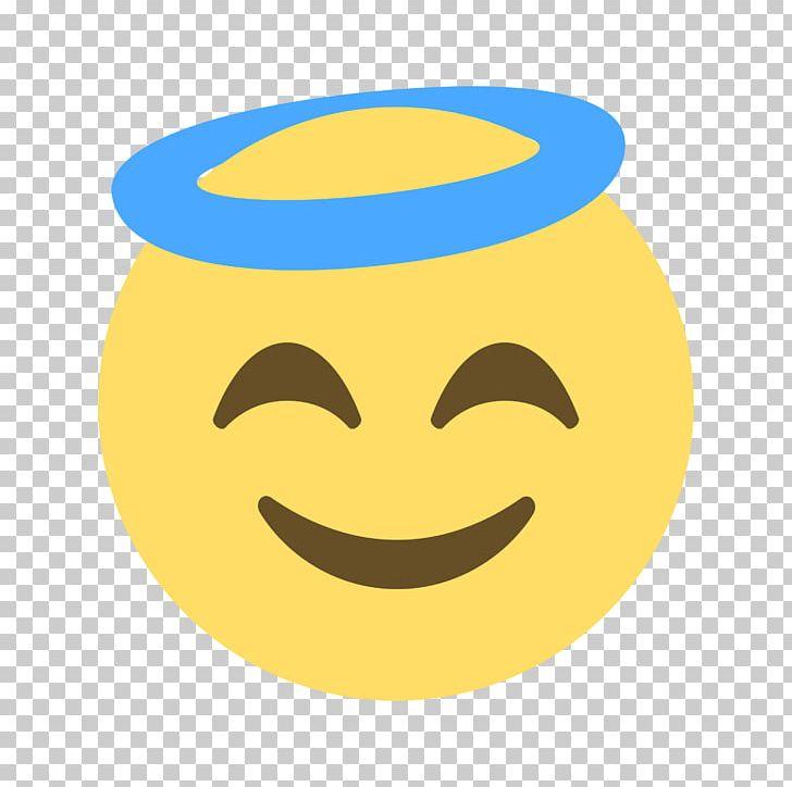 Emoji Emoticon Smiley Angel Sticker Png Clipart Angel