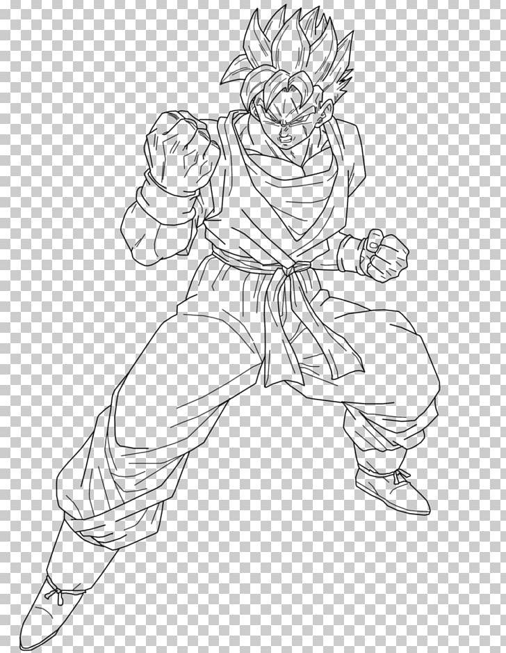 Gohan Goku Vegeta Trunks Goten Png Clipart Angle Arm