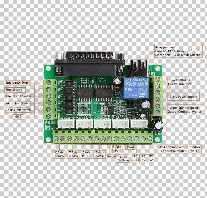 Stepper Motor Computer Numerical Control Printed Circuit Board
