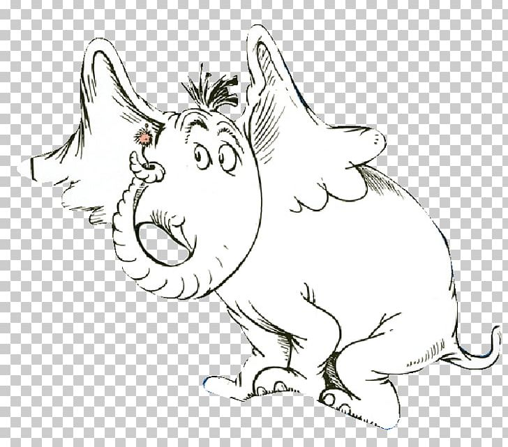 Horton Hears A Who! Drawing Elephant PNG, Clipart, Ani