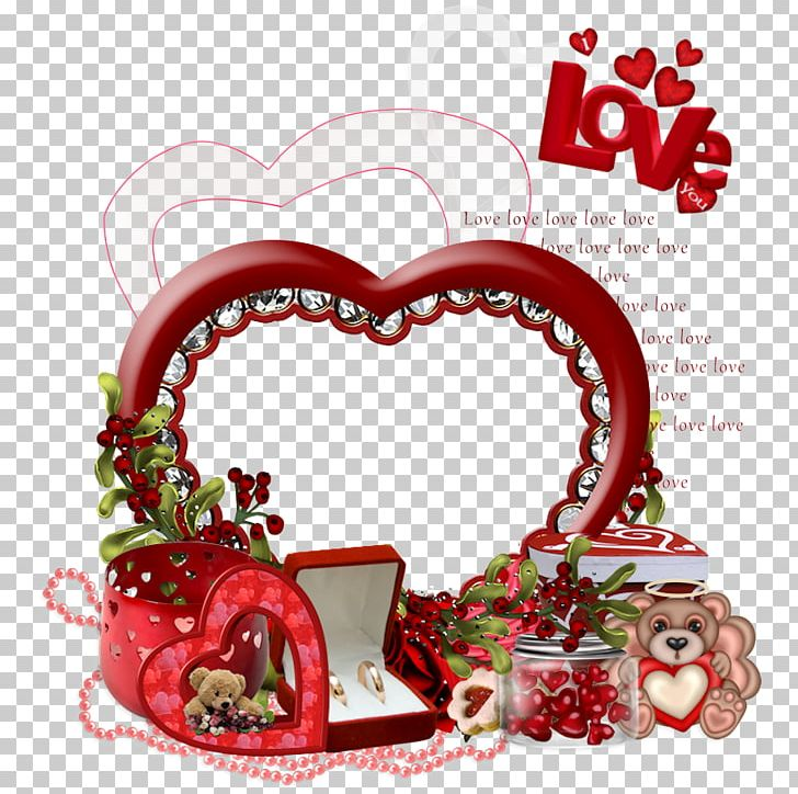 Love Heart Christmas Ornament Png Clipart Character