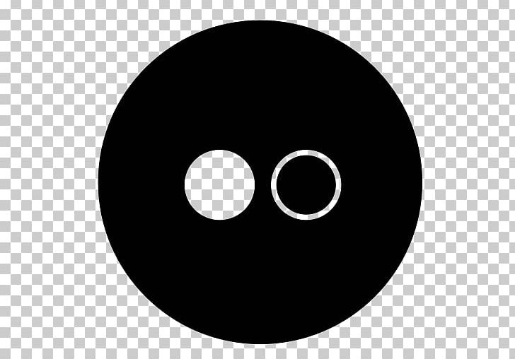 Computer Icons Social Media Symbol PNG, Clipart, Black, Black And White, Circle, Computer Icons, Flickr Free PNG Download