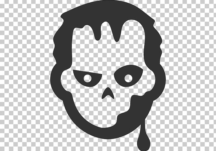 Computer Icons Zombie PNG, Clipart, Avatar, Black And White, Bone