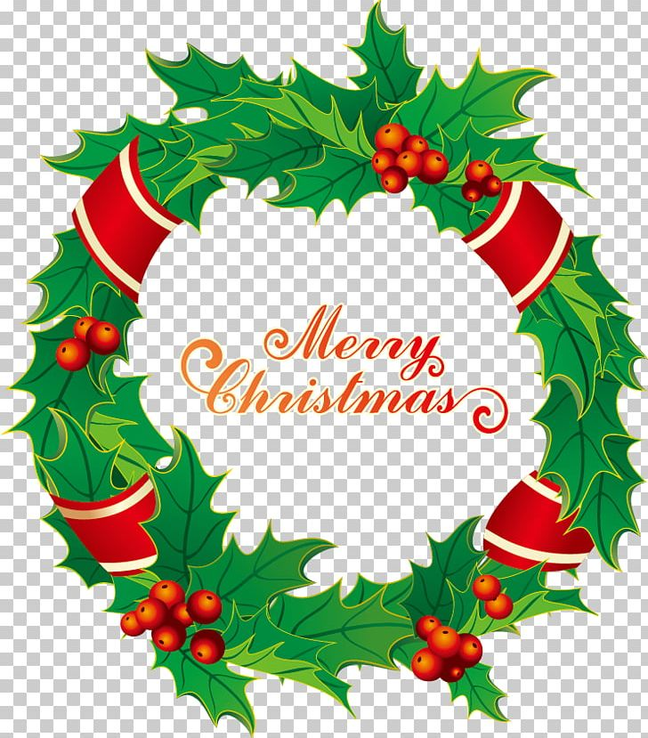 Christmas Wreath Stock Illustration Garland Png Clipart Border