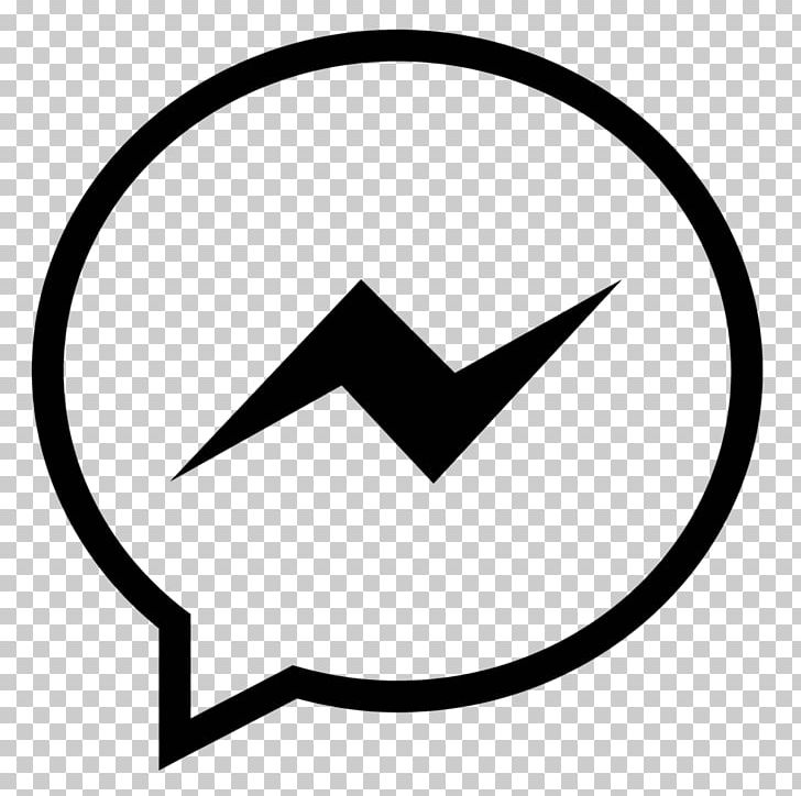 Facebook Messenger Computer Icons Facebook PNG, Clipart, Angle, Area, Black, Black And White, Brand Free PNG Download