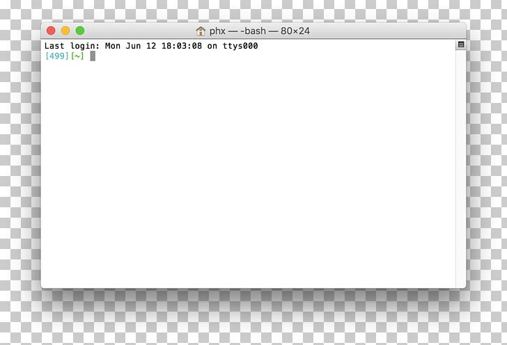 MacBook Pro Terminal MacOS Command-line Interface PNG