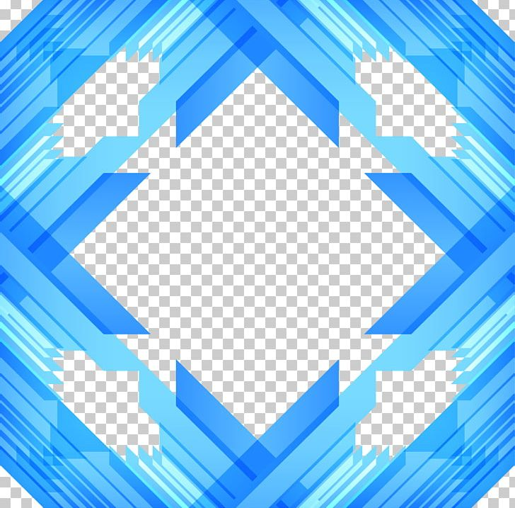 Sky Blue Png Clipart Abstract Border Angle Azure Blue