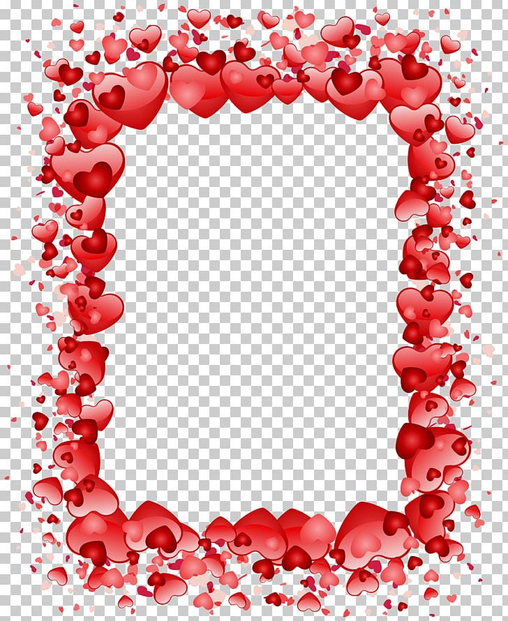 Valentine's Day Heart Frame PNG, Clipart, Border, Circle, Clip , Clipart, Flower Free PNG Download