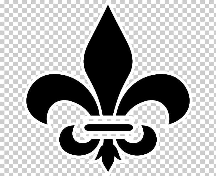 New Orleans Saints Fleur De Lis Png Clipart Black And