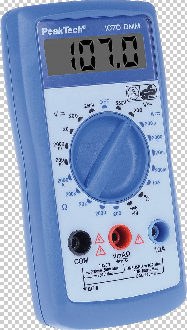 Digital Multimeter Frequency Counter Measuring Instrument
