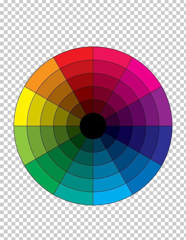 Tertiary Color Color Wheel YouTube Complementary Colors PNG