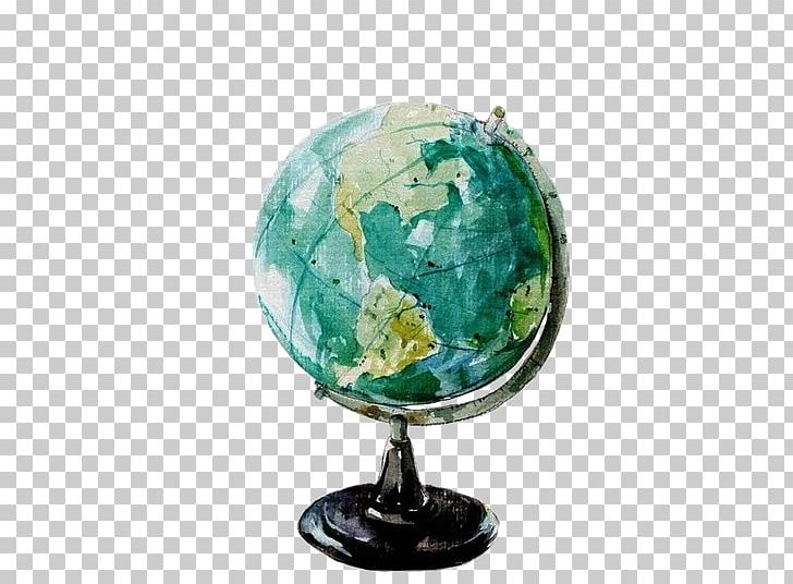 Globe World Watercolor Painting Png Clipart Art Drawing