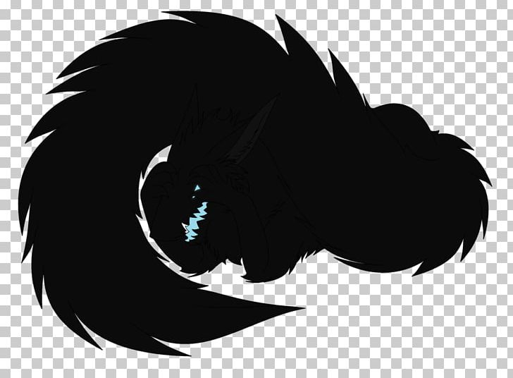 Black Carnivora Silhouette White Feather PNG, Clipart, Animals, Beak, Black, Black And White, Black M Free PNG Download