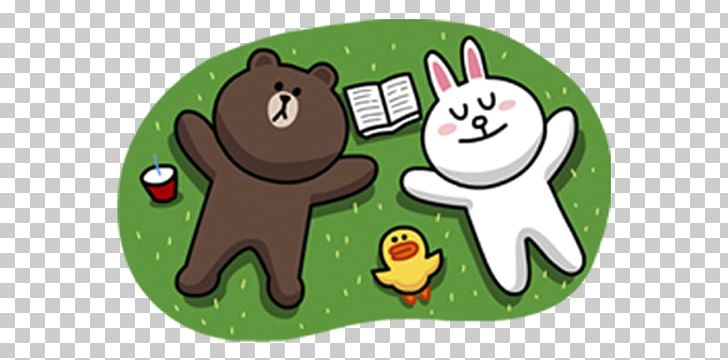 Line Friends Line Brown Farm Sticker Png Clipart Android